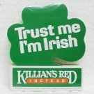 50 KILLIAN'S RED Beer Stickers - Coors - Golden, CO - Trust me I'm Irish - ©1985