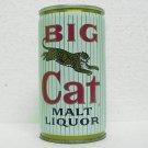 BIG CAT MALT LIQUOR Can - Pabst Brewing Co. 5 Cities - Crimped Steel - Pull tab