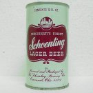 SCHOENLING LAGER BEER Can - Schoenling Brewing Co. Cincinnati, OH - Straight Steel - Pull tab