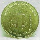 THE D One Dollar Gaming Token - Las Vegas, NV - Fremont St.