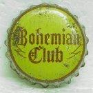BOHEMIAN CLUB Beer Bottle Cap / Crown - Spokane, WA - Cork lined - used