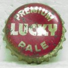 LUCKY PREMIUM PALE Beer Bottle Cap / Crown - Cork Lined