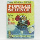 POPULAR SCIENCE - August 1961 - Hot-Air Balloon, Kennedy Rocker, Tiny Two-Wheelers & more