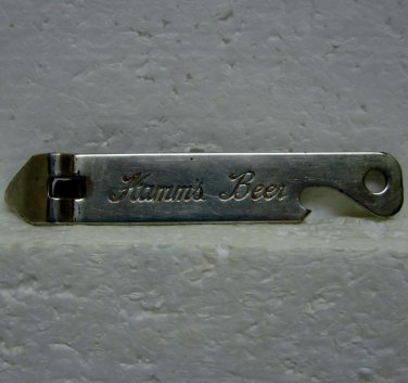 HAMM'S BEER Can and Bottle Opener - Metal - Theo. Hamm Brewing Co. - St. Paul, MN