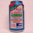 PEPSI Can - Wyoming State Fair - Kids and Kritters - 2005 - Douglas, WY - alum. - 12 oz.