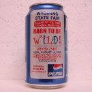 PEPSI Can - Wyoming State Fair - Barn To Be Wild! - 2006 - Douglas, WY - alum.