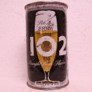 BREW 102 BEER Can - Maier Brewing Co. Los Angeles, CA - flat top - 12 oz.