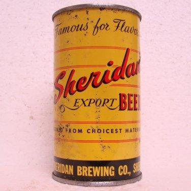 SHERIDAN EXPORT BEER Can - Sheridan Brewing Co. - Sheridan, WY - flat top