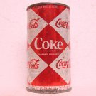 COKE / Coca-Cola Soda Can - Diamonds - Wy Mont Canners - Billings, MT - Insert tap - Straight steel