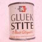 GLUEK STITE MALT LIQUOR Can - Gluek Brewing Co. - Minneapolis, MN - Flat top - 8 oz.