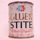 GLUEK STITE MALT LIQUOR Can - Gluek Brewing Co. - Minneapolis, MN - 8 oz. - Flat top