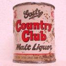 GOETZ COUNTRY CLUB MALT LIQUOR Can - M. K. Goetz Brewing Co. - St. Joe, MO - 8 oz. - Flat top