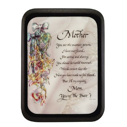 High Gloss Wooden Plaque For Mother