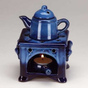 Country Kitchen Oil Warmer Set