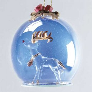 Christmas Rudolph Red Nosed Reindeer Ornament