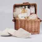 Spa In A Basket Soaps Slipper Massage Tool Bath Gel Lotion Salts
