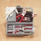 Auto Emergency Kit Jumper Cables Tools
