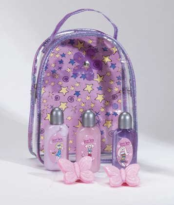 Cool Girls Bath Set With Vinyl Tote
