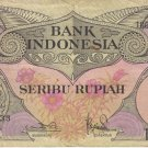 1000 rupiah indonesian old money
