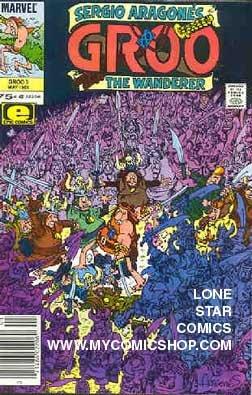 Groo the Wanderer (1985 Marvel) 3