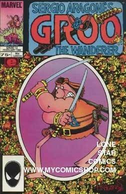 Groo the Wanderer (1985 Marvel) 12