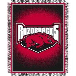 Arkansas Razorbacks Triple Woven Jacquard NCAA Throw by Northwest  MSRP $40.00