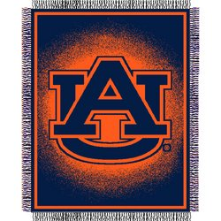 Auburn Tigers Triple Woven Jacquard NCAA Throw by Northwest   MSRP $40.00