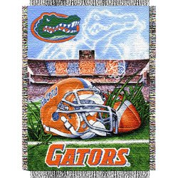 Florida Gators Woven Tapestry NCAA Throw by Northwest   MSRP $40.00