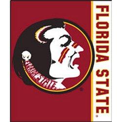 Florida State Seminoles Royal Plush Raschel NCAA Blanket by Northwest  MSRP $40.00