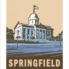 """11""""x14"""" - Springfield Old State Capitol"""