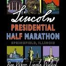 "22""x28"" Lincoln Presidential Half Marathon Print"