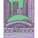 """11""""x14"""" - """"The Bean"""" in Chicago"""