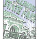 "16"" x 20"" - Illinois State Fair Grounds in Springfield, Illinois"