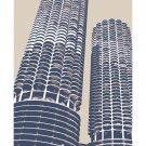 "11""x14"" - Marina City in Chicago"