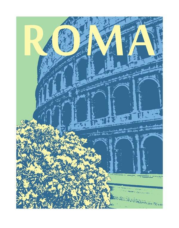 """11""""x14"""" - Roma"""