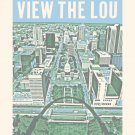 """16"""" x 20"""" View the Lou"""