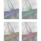 "16"" x 20"" St. Louis Tetraptych Print"