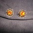 Semi precious earrings made in Tibet #2