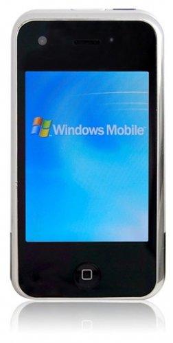 "M88 - 3.2"" Touchscreen, Windows Mobile, WiFi, GPRS, Quad Band Mobile Phone"