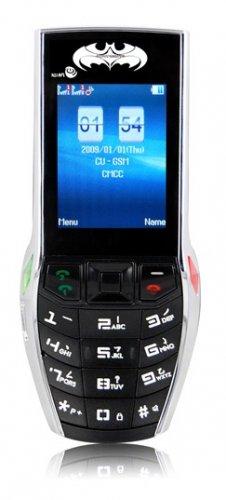 "W900 - Batman Phone with free 256K TF card , 2"" Screen"