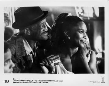 TAP Sammy Davis, Jr., Suzzanne Douglas 8x10 movie still photo
