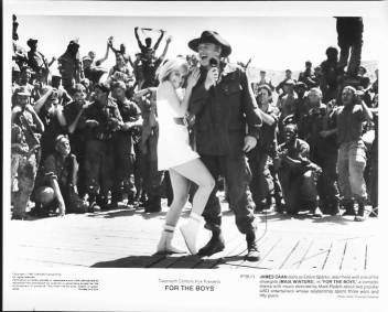FOR THE BOYS Maia Winters, James Caan 8x10 movie still photo