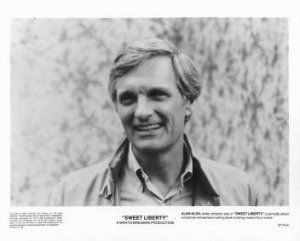 SWEET LIBERTY Alan Alda 8x10 movie still photo