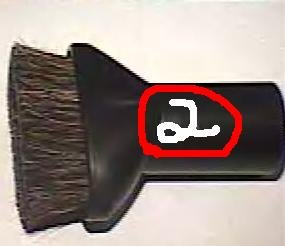 Fantom Lightning Vacuum Upholstery Large Bristle Tool