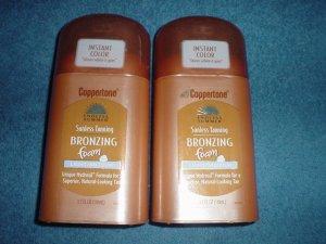2 endless summers sunless tanning bronzing foam light/medium