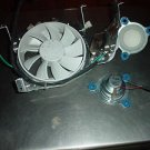 APPLE OEM eMAC G4 MAIN CASE FAN & POWER PLUG W/SPEAKERS