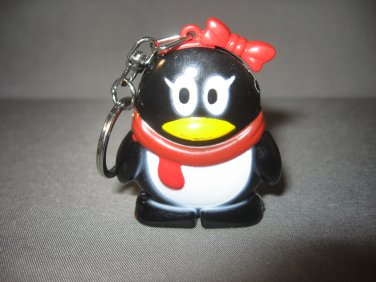 Adorable Penguin Shaped Butane Lighter Keychain Lighter