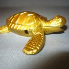 Turtle Shaped Butane Lighter Brass Color