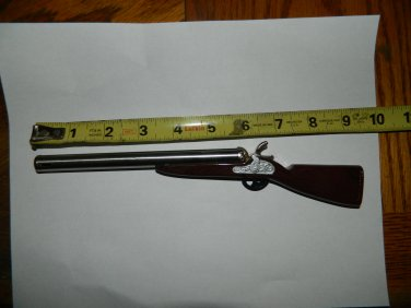 "Shotgun Rifle Musket Shaped Butane Lighter 9"" Long"