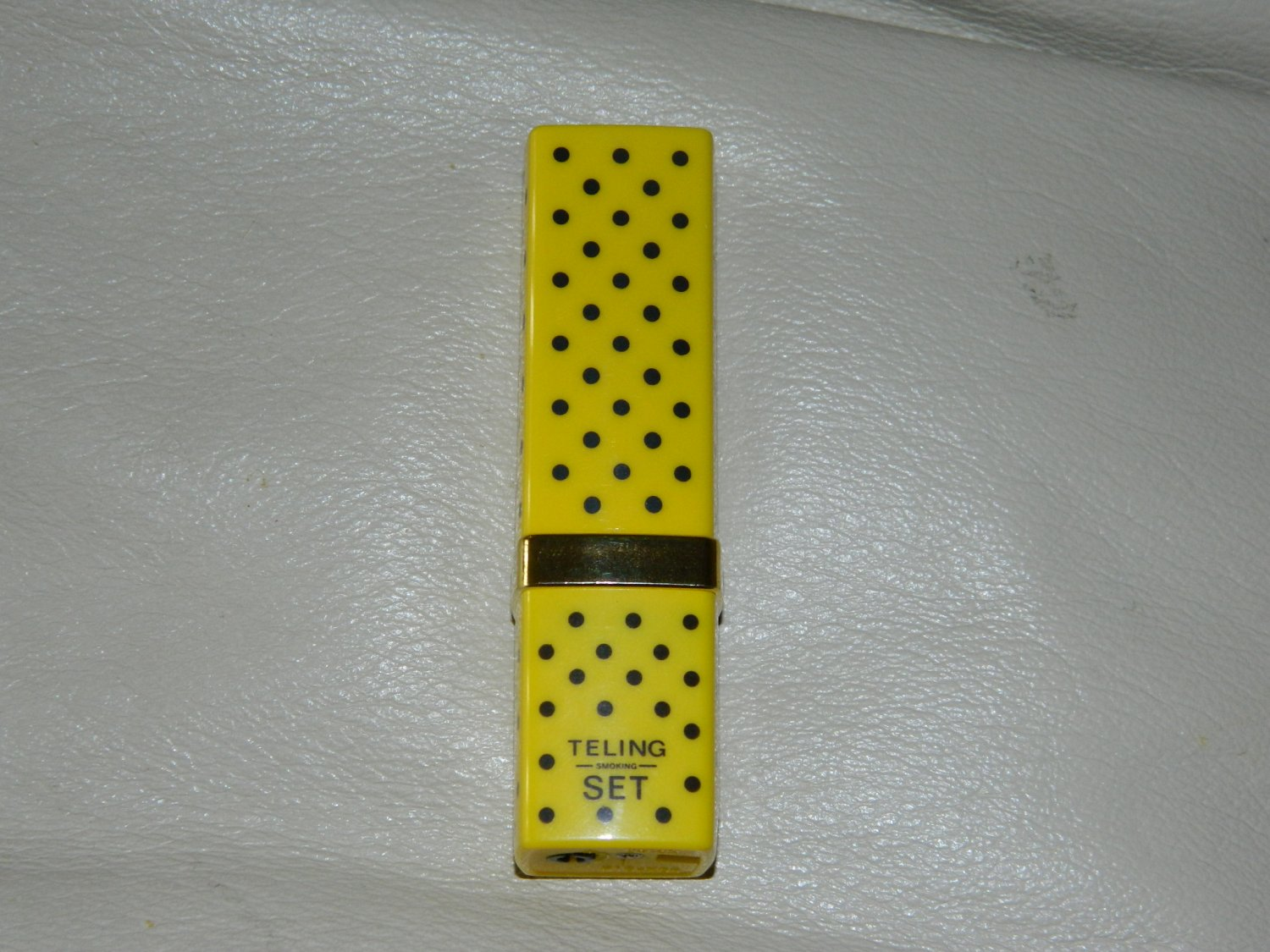 Yellow Lipstick Shaped Butane Lighter USA Stocked
